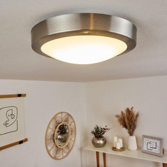 plafonnier extérieur Alleen LED Nickel mat, 3 lumières