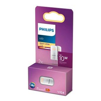 Philips 2x LED G4 1 Watt 2700 Kelvin 115 Lumen