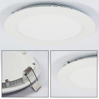 Spot encastrable Finsrud LED Blanc, 1 lumière