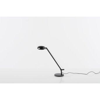 Lampe de table Artemide Demetra Micro LED Anthracite, 1 lumière