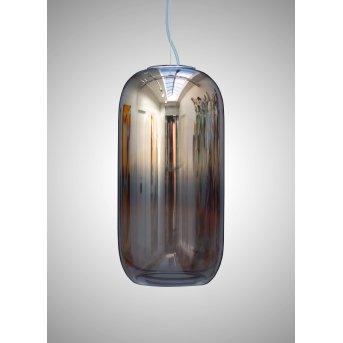 Suspension Artemide Gople Aluminium, 1 lumière