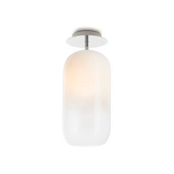 Plafonnier Artemide Gople Aluminium, 1 lumière