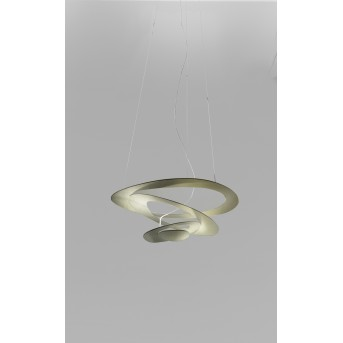 Suspension Artemide Pirce Micro LED Or, 1 lumière