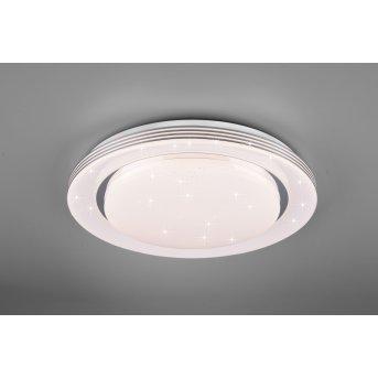 Plafonnier Reality Atria LED Blanc, 1 lumière, Télécommandes