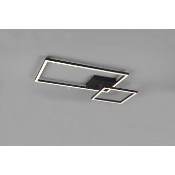 Plafonnier Reality Padella LED Noir, 1 lumière
