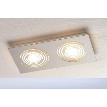 Plafonnier Bopp GALAXY COMFORT LED Aluminium, 2 lumières