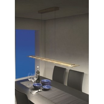 Lampe suspendue Escale SKYLINE LED Or, 8 lumières