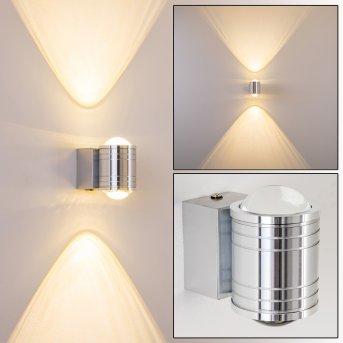 Lampe de salle de bain Florenz LED Aluminium, 2 lumières