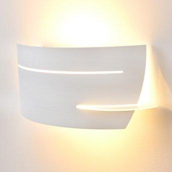 Applique murale Novara Blanc, 1 lumière