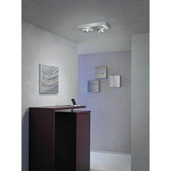 Plafonnier Escale SPOT IT LED Aluminium, 2 lumières
