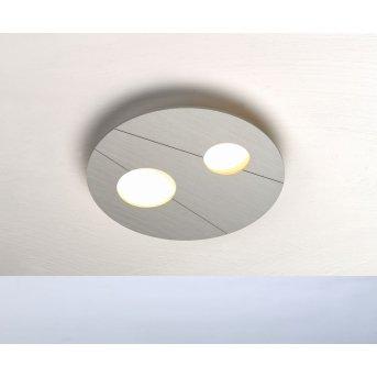 Plafonnier Bopp GRAFICO LED Aluminium, 2 lumières
