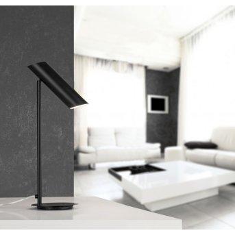 Lampe à poser Faro Link Noir, 1 lumière