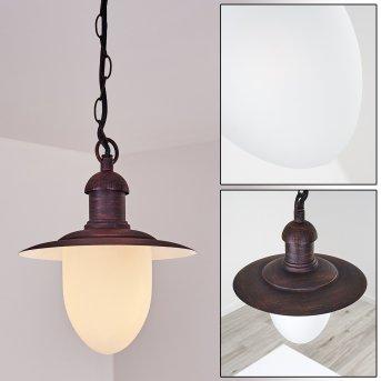 Lampe d'extérieur Surnu Rouille, 1 lumière