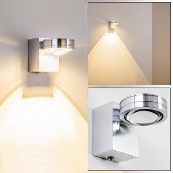 Lampe de salle de bain Florenz LED Aluminium, 1 lumière
