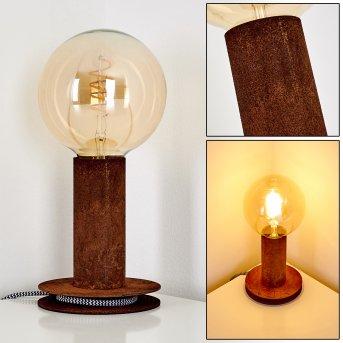 Lampe à poser Kimstad Rouille, 1 lumière