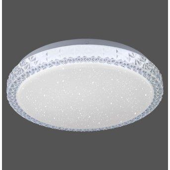 Plafonnier Leuchten Direkt FRIDA LED Transparent, 1 lumière