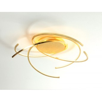 Plafonnier Escale SPACE LED Or, 1 lumière