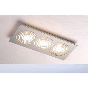 Plafonnier Bopp GALAXY COMFORT LED Aluminium, 3 lumières