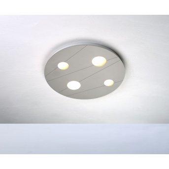 Plafonnier Bopp GRAFICO LED Aluminium, 4 lumières