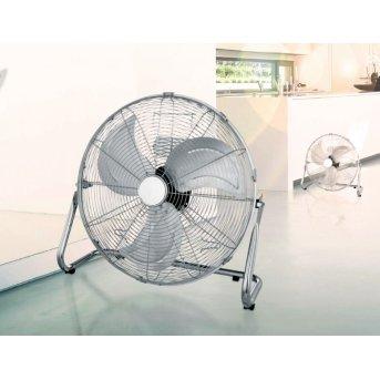 Ventilateur Globo VAN Chrome, Acier inoxydable