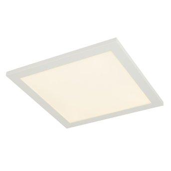 Plafonnier Globo ROSI LED Blanc, 1 lumière