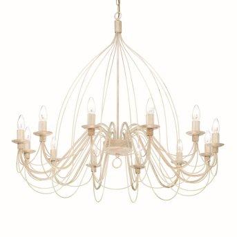 Lustre Ideal Lux CORTE Blanc, 12 lumières