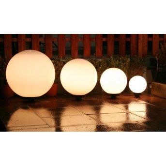 Set de boules lumineuses 20, 30, 40 et 50 cm Blanc, 4 lumières