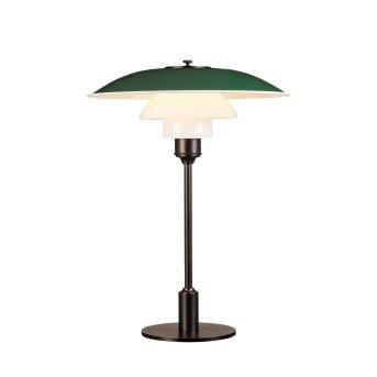 Lampe à poser Louis Poulsen 3½-2½ Vert, 1 lumière