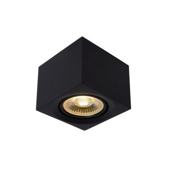 Spot de plafond Lucide FEDLER Noir, 1 lumière