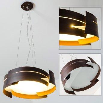 Suspension Novara Brun, 3 lumières
