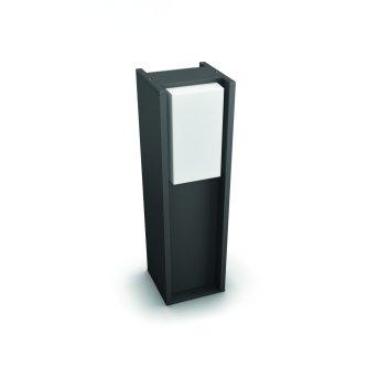 Borne lumineuse Philips Hue White Turaco Anthracite, 1 lumière