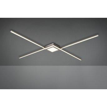 Plafonnier Trio Oxford LED Nickel mat, 1 lumière
