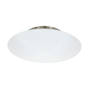 Plafonnier Eglo CONNECT FRATTINA-C LED Nickel mat, 1 lumière, Changeur de couleurs