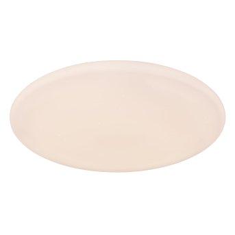Plafonnier Globo RENA LED Blanc, 1 lumière, Télécommandes, Changeur de couleurs