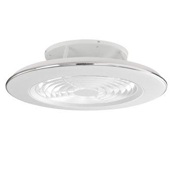 Ventilateur de plafond Mantra ALISIO LED Blanc, 1 lumière, Télécommandes