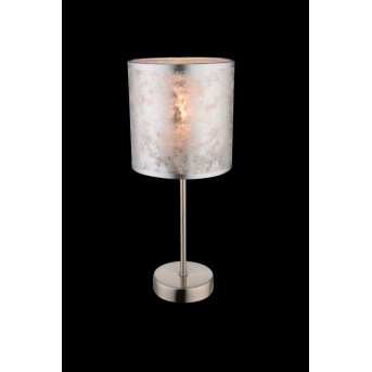 Lampe à poser Globo Nickel mat, 1 lumière