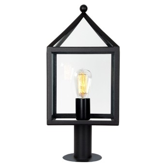 Borne lumineuse KS Verlichting Bloemendaal Noir, 1 lumière