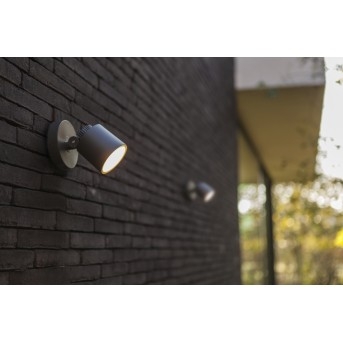 Applique murale d'extérieur Lutec Explorer LED Anthracite, 1 lumière