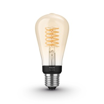 LED White Filament ST64 E27 7 Watt 2100 Kelvin 600 Lumen Philips Hue