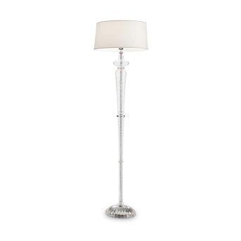 Lampadaire Ideal Lux FORCOLA Chrome, Transparent, 1 lumière