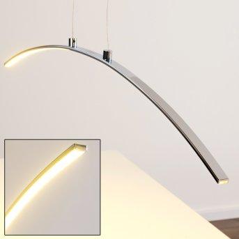 Suspension Leuchten Direkt LED Chrome, 1 lumière