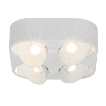Plafonnier AEG Leca LED Blanc, 4 lumières