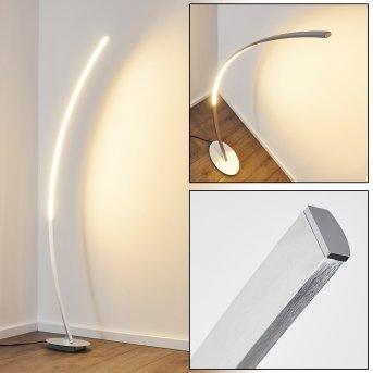 Lampadaire Antares LED Chrome, 1 lumière