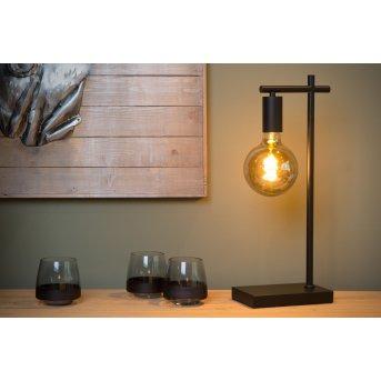 Lampe de table Lucide LEANNE Noir, 1 lumière