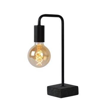 Lampe de table Lucide LORIN Noir, 1 lumière