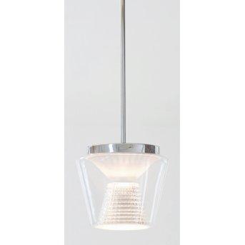 Suspension Serien Lighting ANNEX LED Blanc, Transparent, 1 lumière
