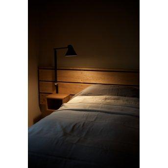 Applique murale Louis Poulsen NJP LED Noir, 1 lumière