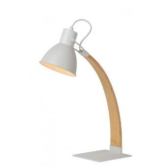 Lampe à poser Lucide CURF Blanc, 1 lumière
