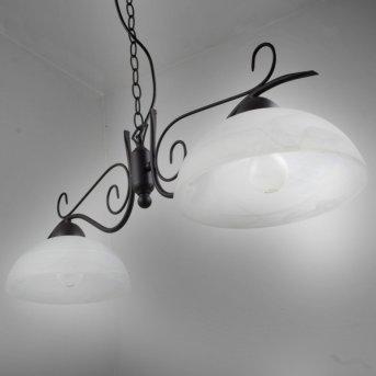 Suspension Reality Rouille, 2 lumières