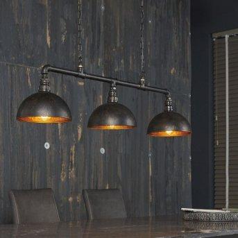 Suspension GROENEKAN Noir, 3 lumières